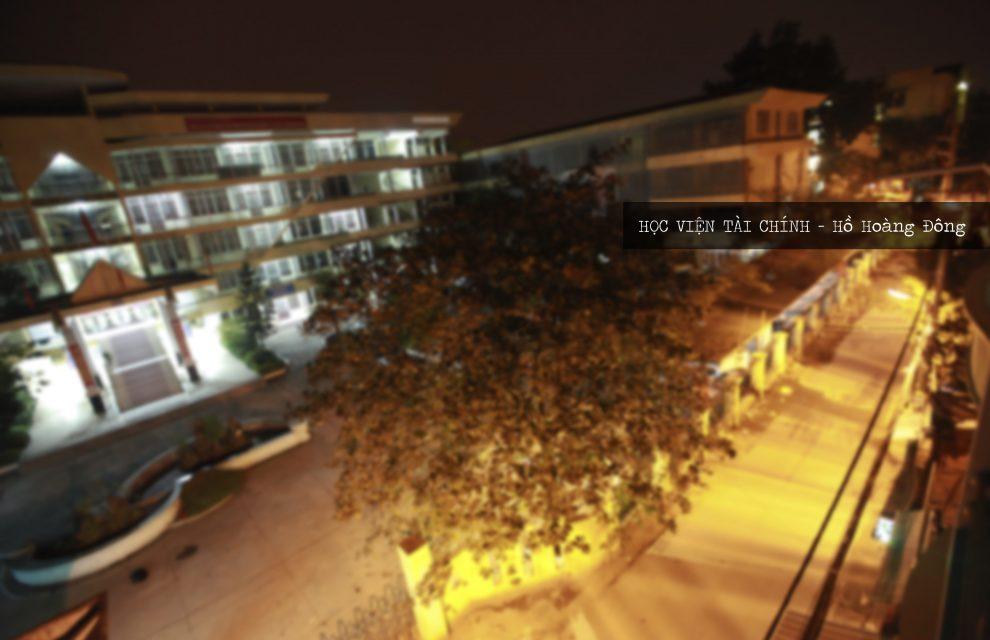 Học viện Tài chính trong thơ Hồ Hoàng Đông